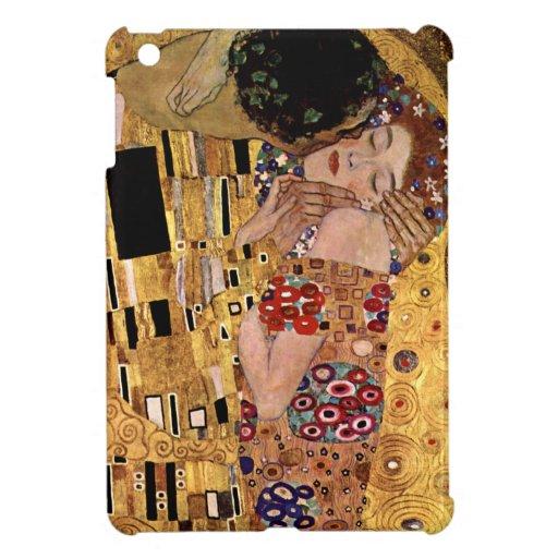 Gustavo Klimt: El beso (detalle)