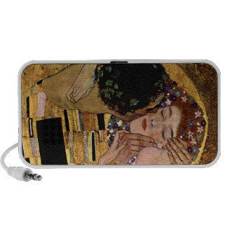 Gustavo Klimt: El beso (detalle) iPod Altavoz