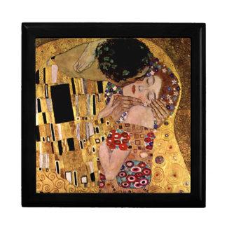 Gustavo Klimt El beso detalle Caja De Joyas