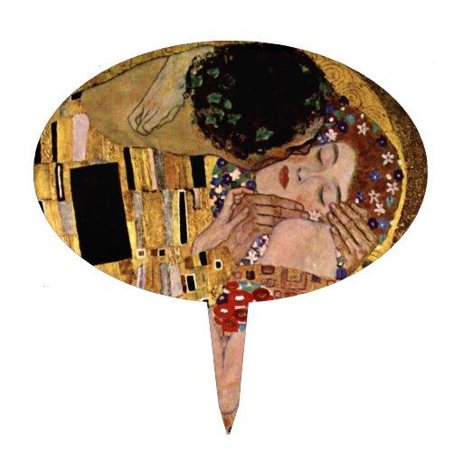 Gustavo Klimt: El beso (detalle) Figura De Tarta