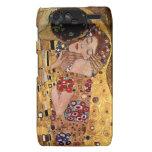 Gustavo Klimt: El beso (detalle) Motorola Droid RAZR Carcasas