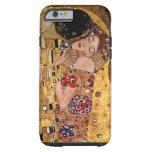 Gustavo Klimt: El beso (detalle) Funda De iPhone 6 Tough