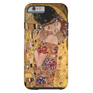 Gustavo Klimt: El beso (detalle) Funda Para iPhone 6 Tough