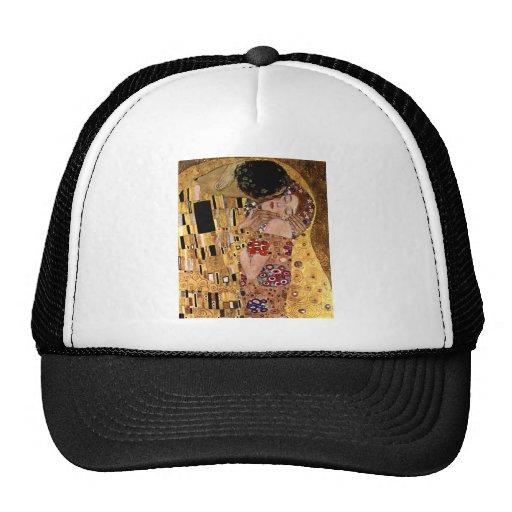 Gustavo Klimt: El beso (detalle) Gorro