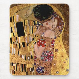 Gustavo Klimt El beso detalle Tapete De Raton