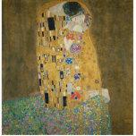 Gustavo Klimt - el beso Esculturas Fotográficas