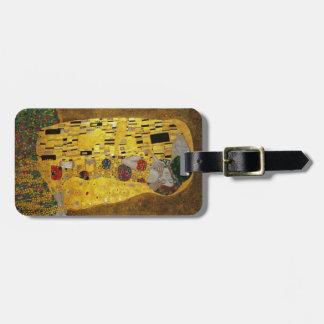Gustavo Klimt el beso Etiqueta Para Equipaje