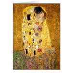Gustavo Klimt el beso Felicitaciones