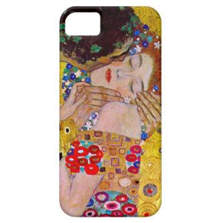 Gustavo Klimt el beso iPhone 5 Case-Mate Cárcasa