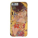 Gustavo Klimt el beso Funda De iPhone 6 Barely There