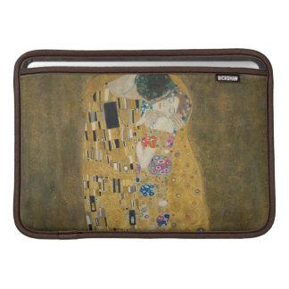 Gustavo Klimt - el beso Funda MacBook