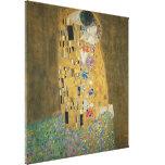 Gustavo Klimt - el beso Impresion De Lienzo