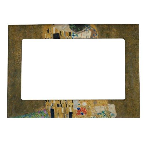 Gustavo Klimt - el beso Marcos Magneticos De Fotos