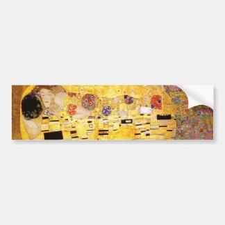 Gustavo Klimt el beso Pegatina Para Auto