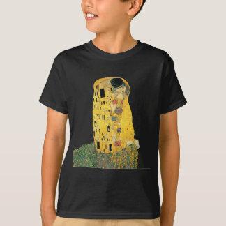 Gustavo Klimt - el beso Playera