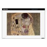 Gustavo Klimt el beso Portátil Calcomanía