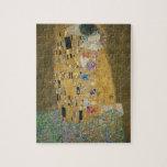 Gustavo Klimt - el beso Puzzles