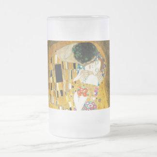 Gustavo Klimt el beso Tazas De Café