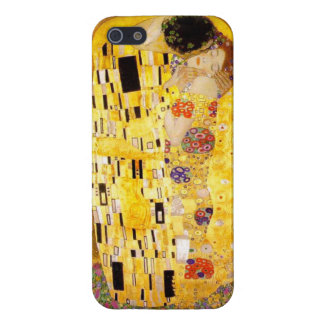 Gustavo Klimt el caso del iPhone 5 del beso iPhone 5 Carcasas