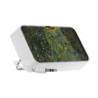 Gustavo Klimt- el girasol Altavoces De Viajar