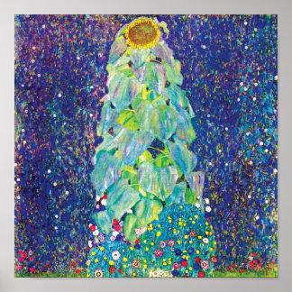 Gustavo Klimt - el girasol Impresiones
