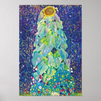 Gustavo Klimt - el girasol Poster