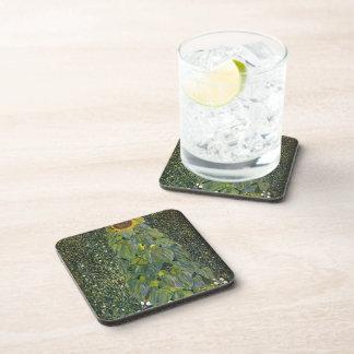 Gustavo Klimt- el girasol Posavasos De Bebidas