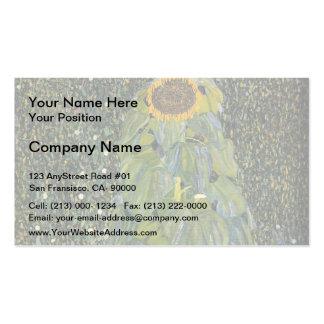Gustavo Klimt- el girasol Tarjetas De Visita