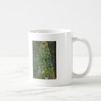 Gustavo Klimt- el girasol Tazas De Café