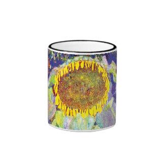 Gustavo Klimt - el girasol Tazas De Café