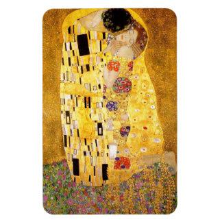 Gustavo Klimt el imán del beso