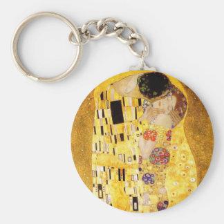Gustavo Klimt el llavero del beso