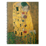 Gustavo Klimt el oro de Nouveau Jugendstil del art Notebook