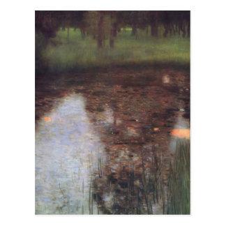 Gustavo Klimt- el pantano Postales