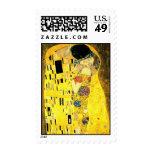 Gustavo Klimt - el sello del beso