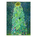 Gustavo Klimt: Girasol Felicitaciones
