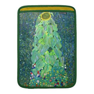Gustavo Klimt: Girasol Funda Macbook Air