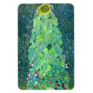 Gustavo Klimt: Girasol Imanes Rectangulares