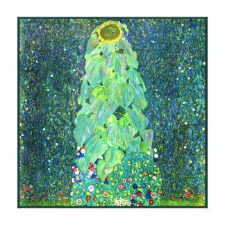 Gustavo Klimt: Girasol Lienzo Envuelto Para Galerías