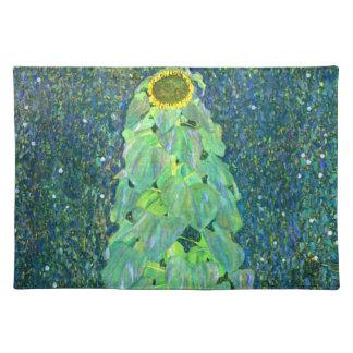 Gustavo Klimt: Girasol Manteles Individuales