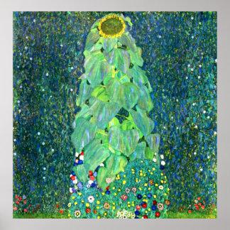 Gustavo Klimt Girasol Posters