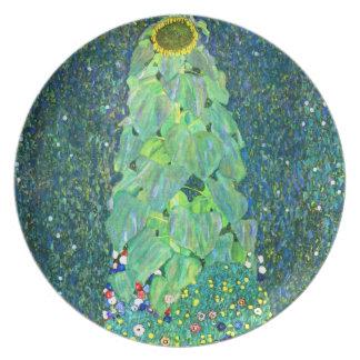 Gustavo Klimt: Girasol Plato