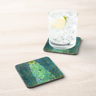 Gustavo Klimt Girasol Posavasos De Bebidas
