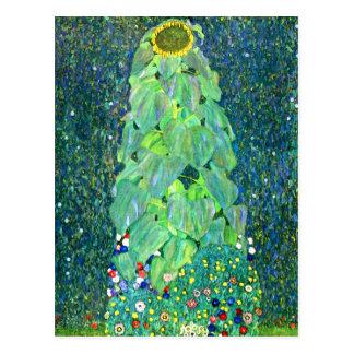 Gustavo Klimt: Girasol Tarjeta Postal