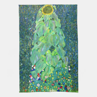 Gustavo Klimt: Girasol Toallas De Cocina