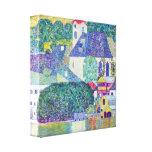 Gustavo Klimt - iglesia del St Wolfgang Impresión En Lienzo Estirada