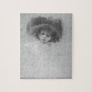 Gustavo Klimt - imagen del pecho de un rompecabeza
