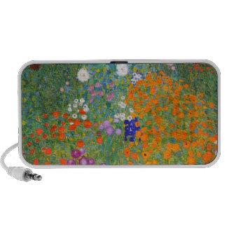 Gustavo Klimt: Jardín de flores Mini Altavoces