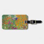 Gustavo Klimt: Jardín de flores Etiquetas Bolsas