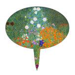 Gustavo Klimt: Jardín de flores Figura Para Tarta